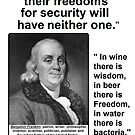 Ben Franklin Double Quote by Radwulf