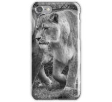 Big Cats On The Hunt iPhone Case/Skin
