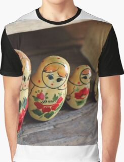 The Cheeky Nesting Doll Graphic T-Shirt