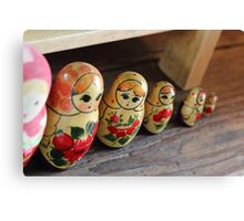 The Cheeky Nesting Doll Canvas Print