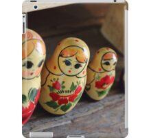 The Cheeky Nesting Doll iPad Case/Skin
