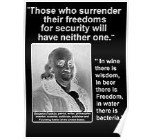 Ben Franklin 2 Quotes for One Poster