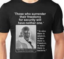 Ben Franklin 2 Quotes for One Unisex T-Shirt