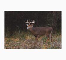 On the hunt - White-tailed deer Buck Kids Tee