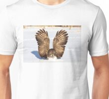 Caught - Great Grey Owl Unisex T-Shirt