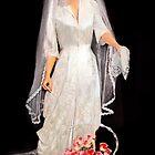 Bridal Gown/ 1949 by Nadya Johnson