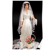 Bridal Gown/ 1949 Poster