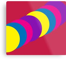 The Happy Gumball Collection - Magenta Metal Print