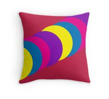 The Happy Gumball Collection - Magenta Throw Pillow
