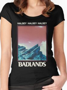 Halsey / BADLANDS Special Design Women's Fitted Scoop T-Shirt
