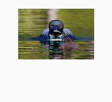 Take-out finally arrives - Common Loon - Buck Lake, Ontario Unisex T-Shirt