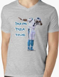 Dab On Them Folks Mens V-Neck T-Shirt