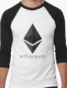 Ethereum Men's Baseball ¾ T-Shirt