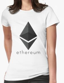 Ethereum Womens Fitted T-Shirt