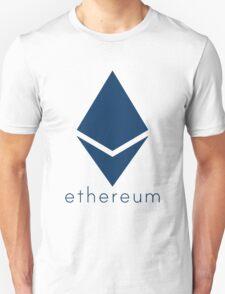 Ethereum Blue (Flat) Unisex T-Shirt