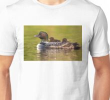 Once around the lake please - Common Loon Unisex T-Shirt
