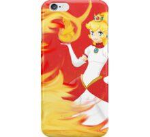 Fire Peach iPhone Case/Skin