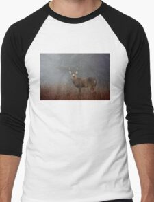 Big Buck - White-tailed deer Men's Baseball ¾ T-Shirt