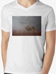 Big Buck - White-tailed deer Mens V-Neck T-Shirt