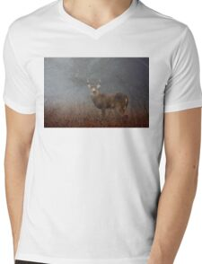 Big Buck - White-tailed deer Mens V-Neck T-Shirt