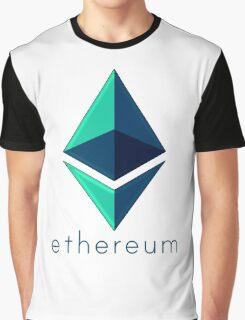 Ethereum metalic green  Graphic T-Shirt