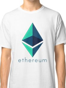 Ethereum metalic green  Classic T-Shirt