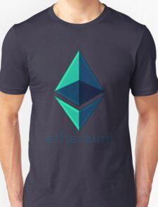 Ethereum metalic green  T-Shirt