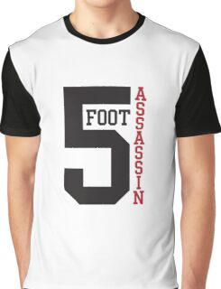 5 FOOT ASSASSIN Graphic T-Shirt
