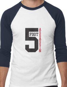 5 FOOT ASSASSIN Men's Baseball ¾ T-Shirt