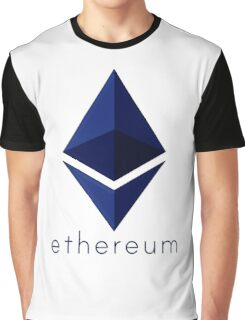 Ethereum Blue  Graphic T-Shirt