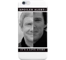 JOHNLOCK | Love Story iPhone Case/Skin