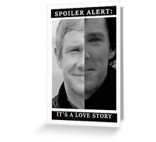 JOHNLOCK | Love Story Greeting Card