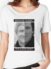 JOHNLOCK | Love Story Women's Relaxed Fit T-Shirt