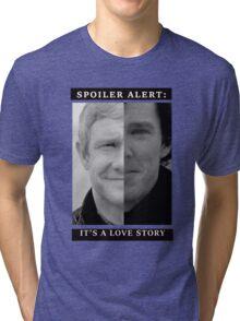 JOHNLOCK | Love Story Tri-blend T-Shirt