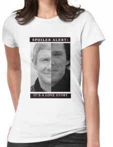 JOHNLOCK | Love Story Womens Fitted T-Shirt