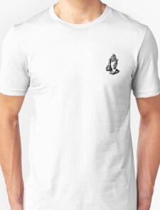 Prayer Hands (Black) Unisex T-Shirt