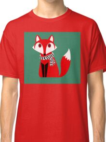 FOX WITH SCARF Classic T-Shirt