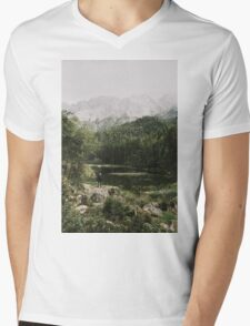 In Silence - Landscape Photography Mens V-Neck T-Shirt