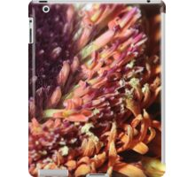 gerbera stamen floral abstract background iPad Case/Skin