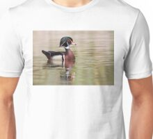 Silky Waters - Wood Duck Unisex T-Shirt