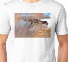 As God as my wtness....Flying Wild Turkey T-Shirt