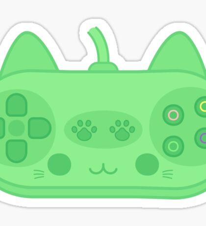 Cute kitty controller Sticker