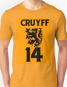 70's football gods #2 Johan Cruyff T-Shirt