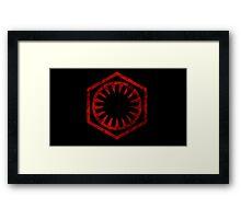 The First Order Symbol Framed Print