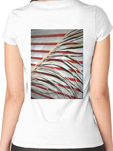 Carl's Florida Flag Women's Fitted Scoop T-Shirt
