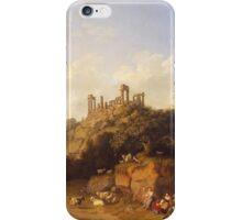 Jacob Philipp Hackert Landscape iPhone Case/Skin