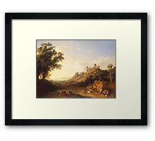 Jacob Philipp Hackert Landscape Framed Print