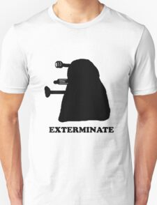 EXTERMINATE DALEK IN THE SHADOWS T-Shirt