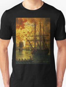 Jacob Philipp Hackert Water Fire Bomb Unisex T-Shirt