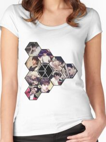"EXO ""Love Me Right"" Women's Fitted Scoop T-Shirt"